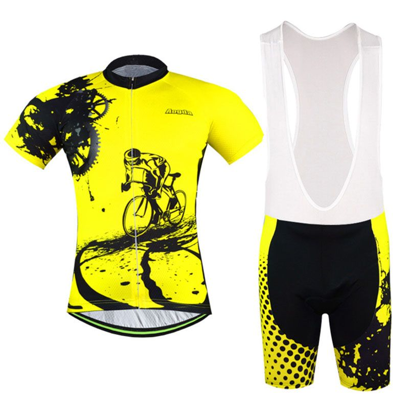 2016 uniforme de cyclisme homme maillots de cyclisme Ropa Ciclismo vêtements de cyclisme vtt vélo vêtements Rock course vélo vêtements ensembles