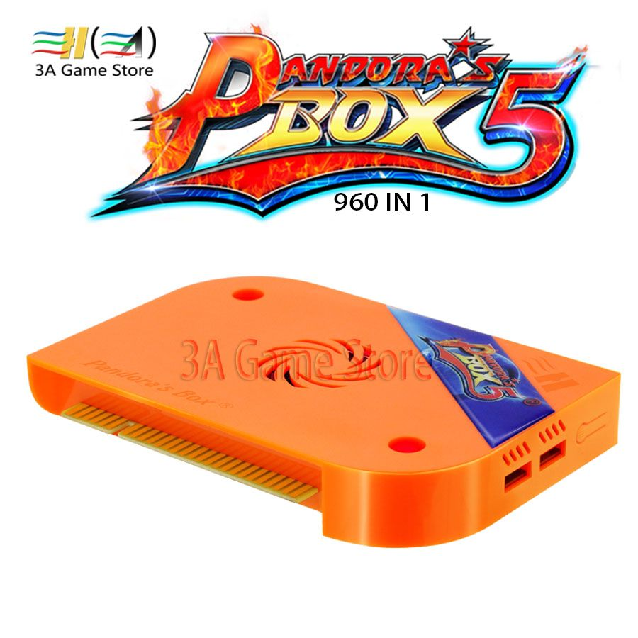 2018 neue Pandora Box 5 960 in 1 Arcade Version Orange Jamma spiel Bord HDMI/VGA Ausgabe Full HD 720 P Für Arcade Maschine schrank