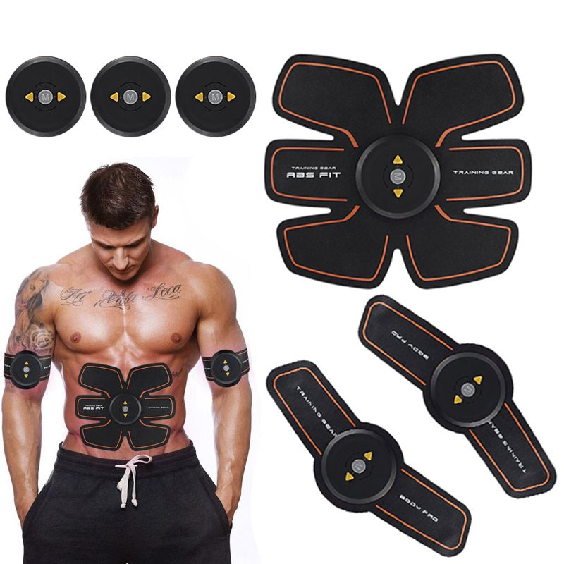 Smart EMS Abdominal Muscle Stimulator Exerciser Trainer Device Muscles Intensive Training Weight <font><b>Loss</b></font> Slimming Massager Machine