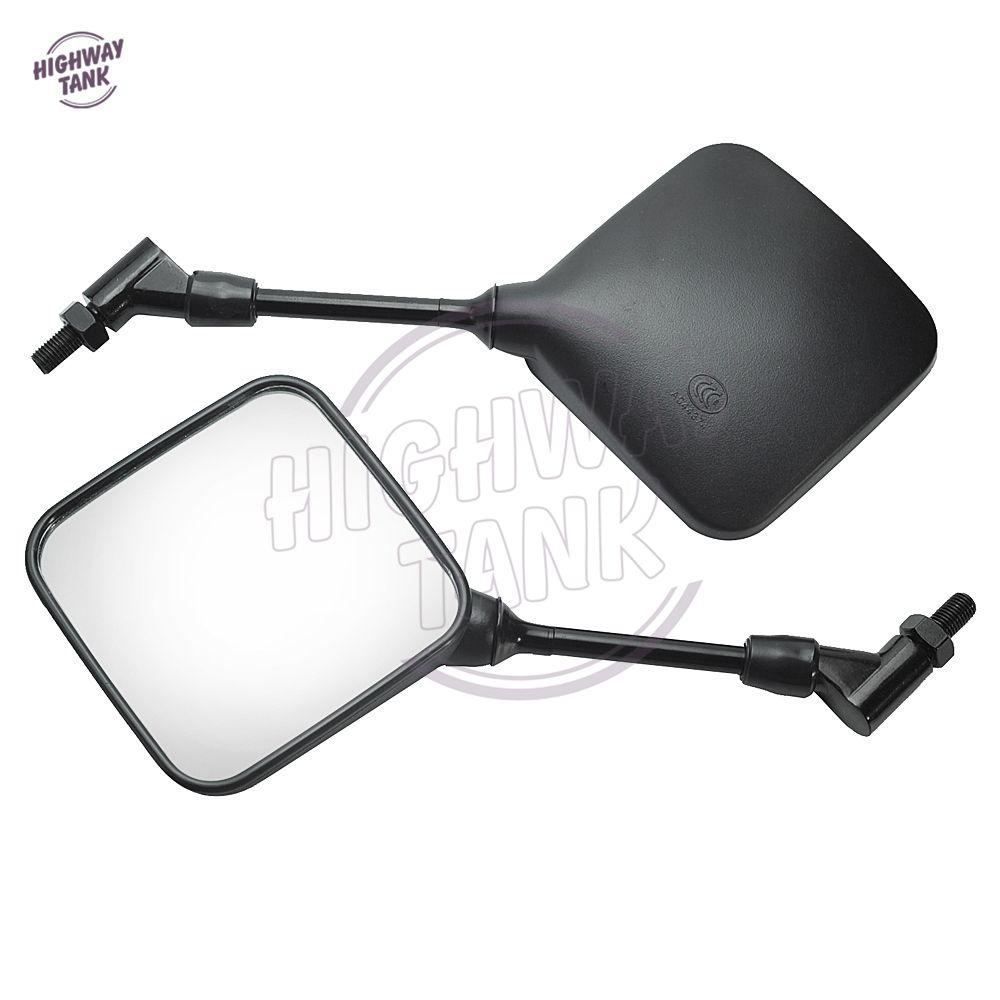 Nouveau livraison gratuite GRATUITA double Sport rétroviseur moto Specchi cas pour Suzuki DR 200 250 DRZ DR350 350 400 650 DR650