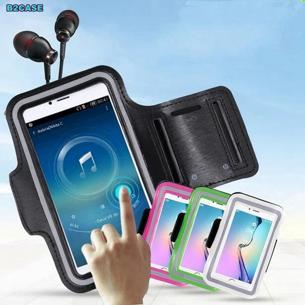 Workout Gym Running Sport Arm Band Belt Case For samsung A3 J2 S2 S3 S3mini S4mini S5mini screen touch full cover coque shells