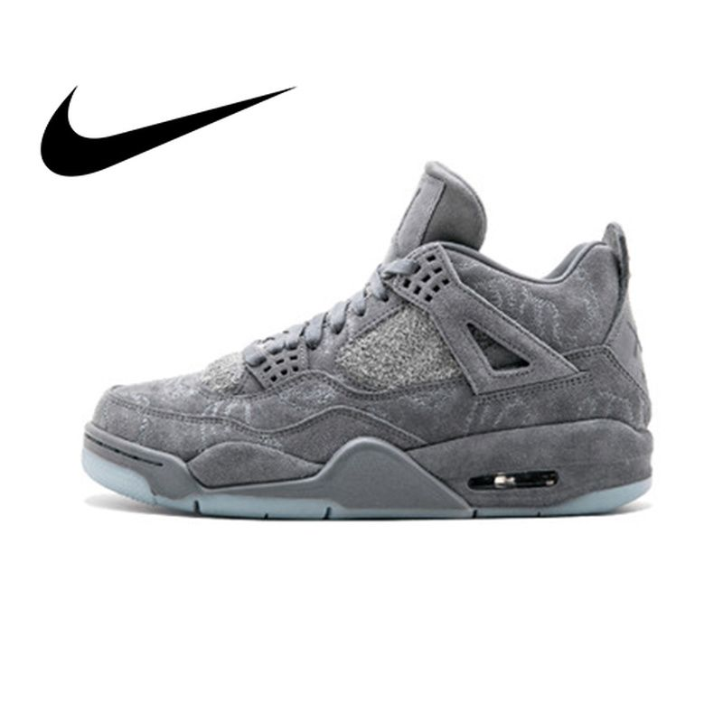 Nike Air Jordan 4 Retro Kaws AJ4 männer Basketball Schuhe Sport Turnschuhe Sportlich Designer Schuhe 2018 Neue Jogging 930155 -003
