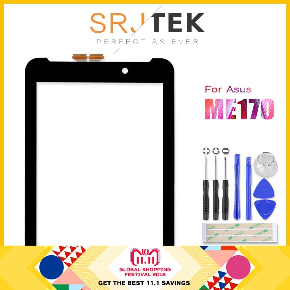 Touchscreen For ASUS Fonepad FE7010CG FE170CG ME170 ME70C K012 K017 Touch Screen Panel Digitizer Glass Sensor Replacement PC 7