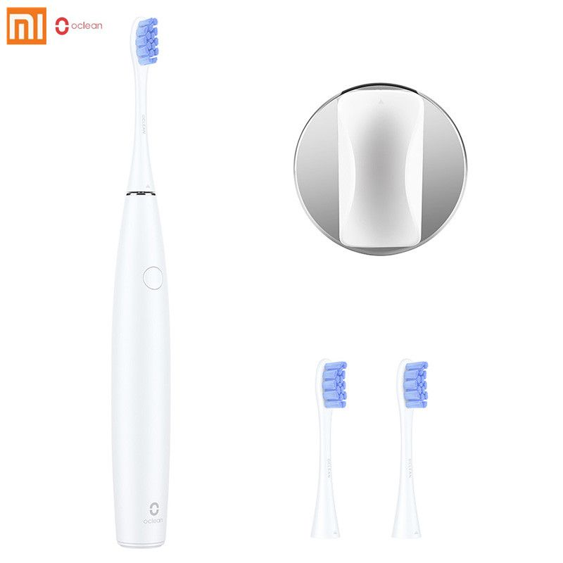 Xiaomi Oclean SE Rechargeable Sonic Electrical Toothbrush International Version APP Control With 2 Brush Heads And 1 Wall Holder
