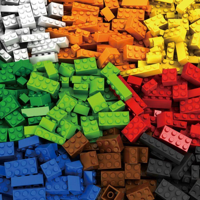 1000 pièces Blocs De Construction Legoings Ville BRICOLAGE Créatif Briques En Vrac Figurines Jouets Éducatifs Pour Enfants Compatible Toutes Marques