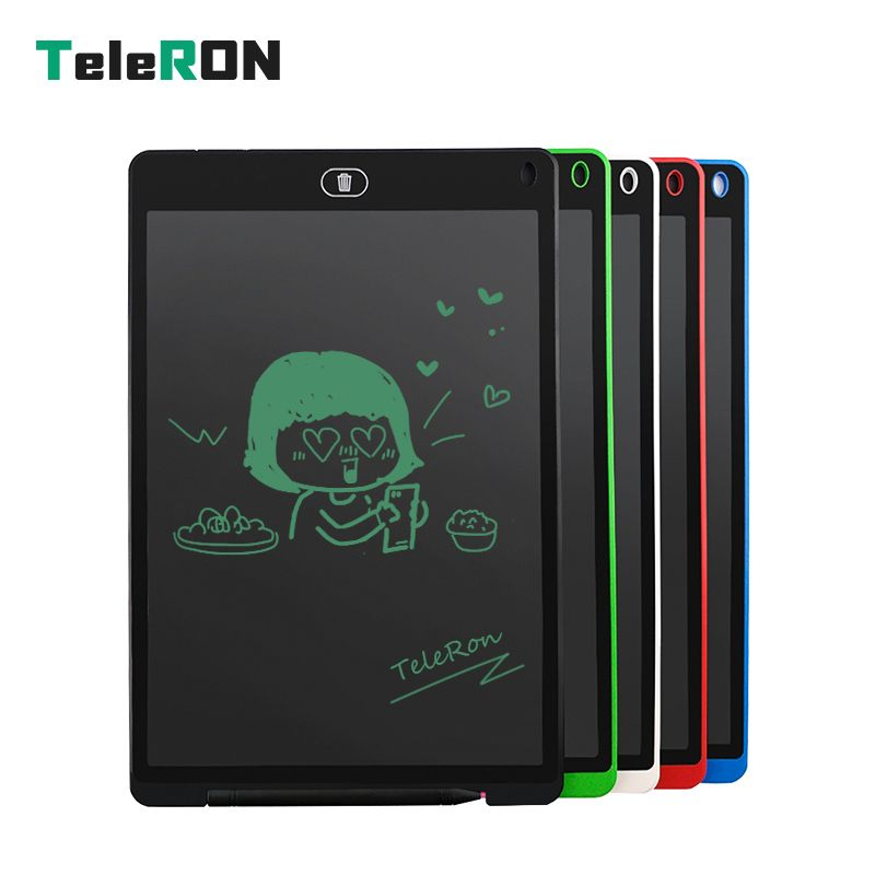 12 Inch LCD Writing Tablet Digital Drawing Tablet Handwriting Pads Portable Electronic Tablet Board ultra-thin Board Kids Gift