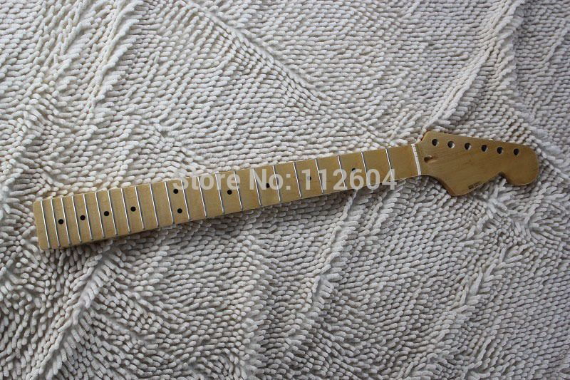 Canadian maple neck Scalloped Groove refers to the board Guitar Neck 22 frets nitro satin guitar neck Fingerboard
