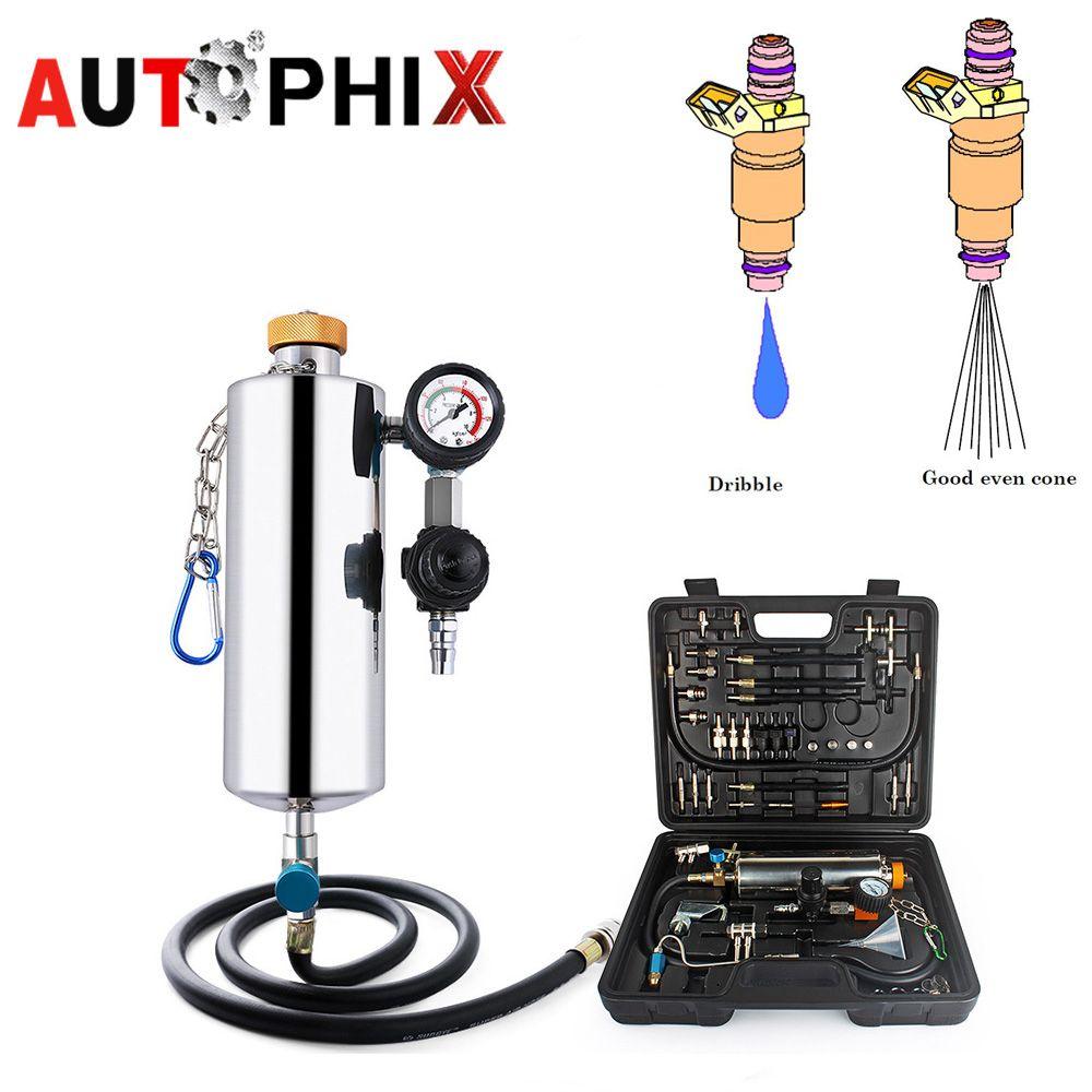 AUTOPHIX топлива инструмент Gx100 автомобиля инструменты чистый системы впрыска топлива авто инструменты Топливная форсунка служба Топливная фо...