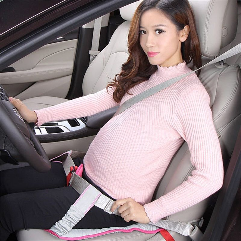 GSPSCN Newest Pregnant Women Car Seat Cushion Belt for Pregnant Safety Protection soft Breathable Safe pad mat car seat belt
