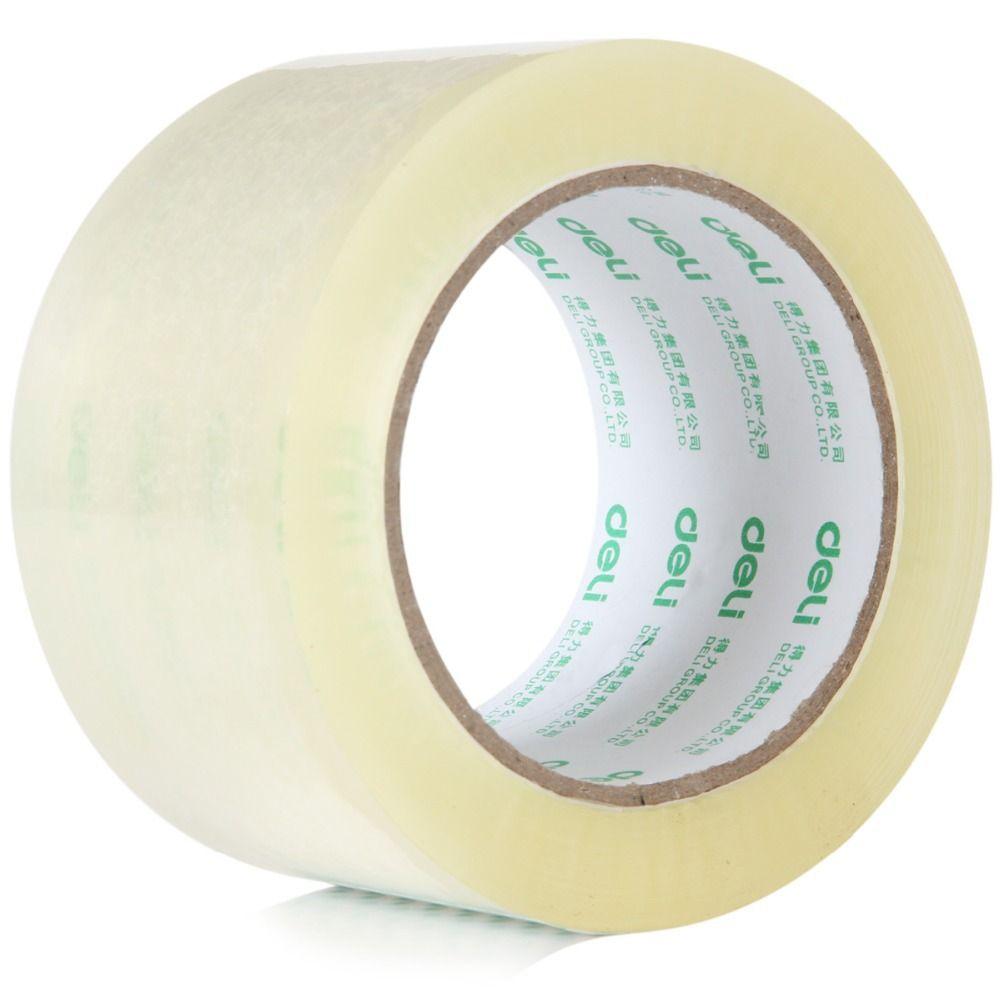 7 tamaños Ancho cinta de embalaje cinta de sellado cinta transparente 60mm 100y 45um 30325