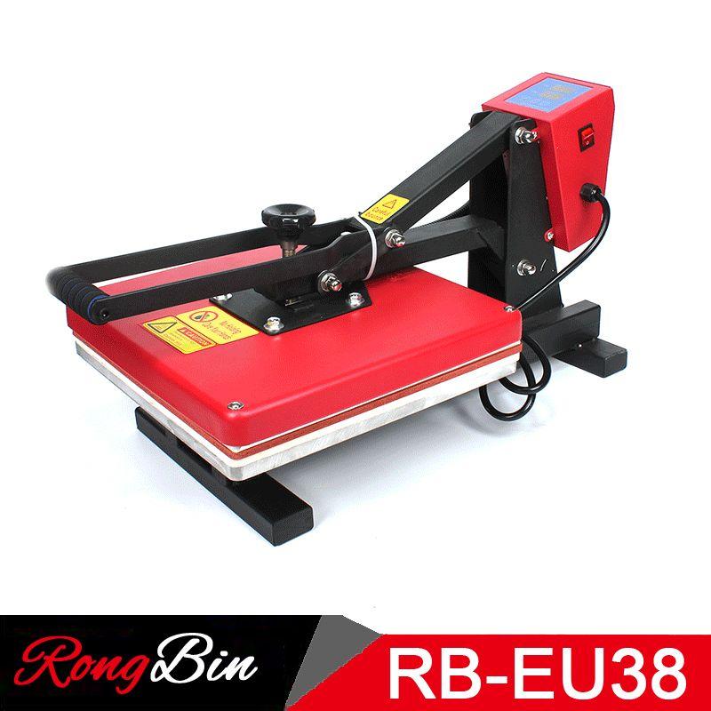 38x38 CM Hochdruckhitze-pressemaschine T shirts Sublimation Druckmaschine für Telefonkasten Puzzle Mauspad glas Felsen Foto