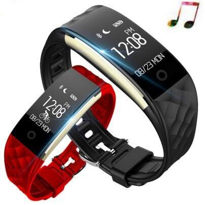 Bracelet intelligent S2 fréquence cardiaque Bracelet intelligent Mp3 bande intelligente Tracker de Fitness montre de sport pour Android IOS apple montre xiaomi