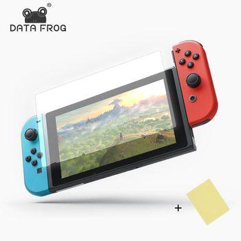 Daten Frosch 2 stücke HD Ultra Dünne Display-schutzfolien Anti-Scratch Schutz Film Für Nintend Schalter Konsole Für NS bildschirm Haut Abdeckung