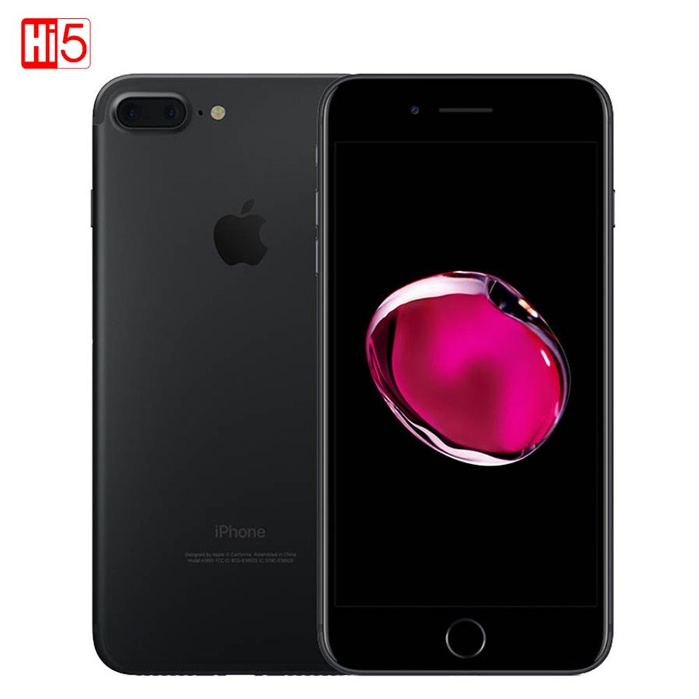 Unlocked Apple iPhone 7 Plus 5.5 inch 32G/128GB <font><b>WIFI</b></font> 12MP IOS 11 LTE 4G 12.0MP Camera Smartphone Fingerprint mobile phone