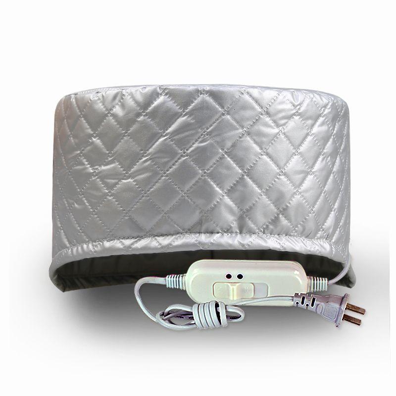 Chauffage électrique casquette évaporation soin des cheveux film inversé maison cuit huile chapeau cheveux coloration casquette rose deuxième paragraphe casquette