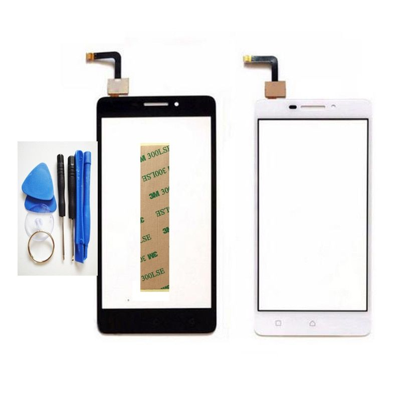 New Touch Panel Sensor Touchscreen For Lenovo Vibe P1m P1m a40 P1ma40 P1mc50 Touch Screen Digitizer Front Glass Lens +Tools