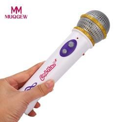 Mainan Anak Gadis Anak Laki-laki Mikrofon MIC Karaoke Bernyanyi Anak Hadiah Lucu Musik Mainan untuk Anak Karaoke Infantil DROP Kapal # M