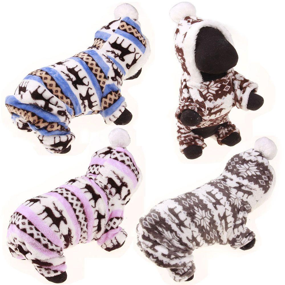 Designer Weiche Winter Warme Haustier hund kleidung haustier kleidung Deer baumwolle welpen hunde mantel winterjacke für kleine hunde sweatshirt mädchen