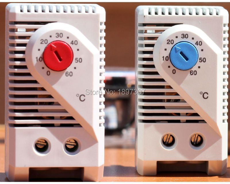 2 stücke KTO 011 KTS 011 Mini Temperaturregler heizung Thermostat (0 ~ 60 grad)