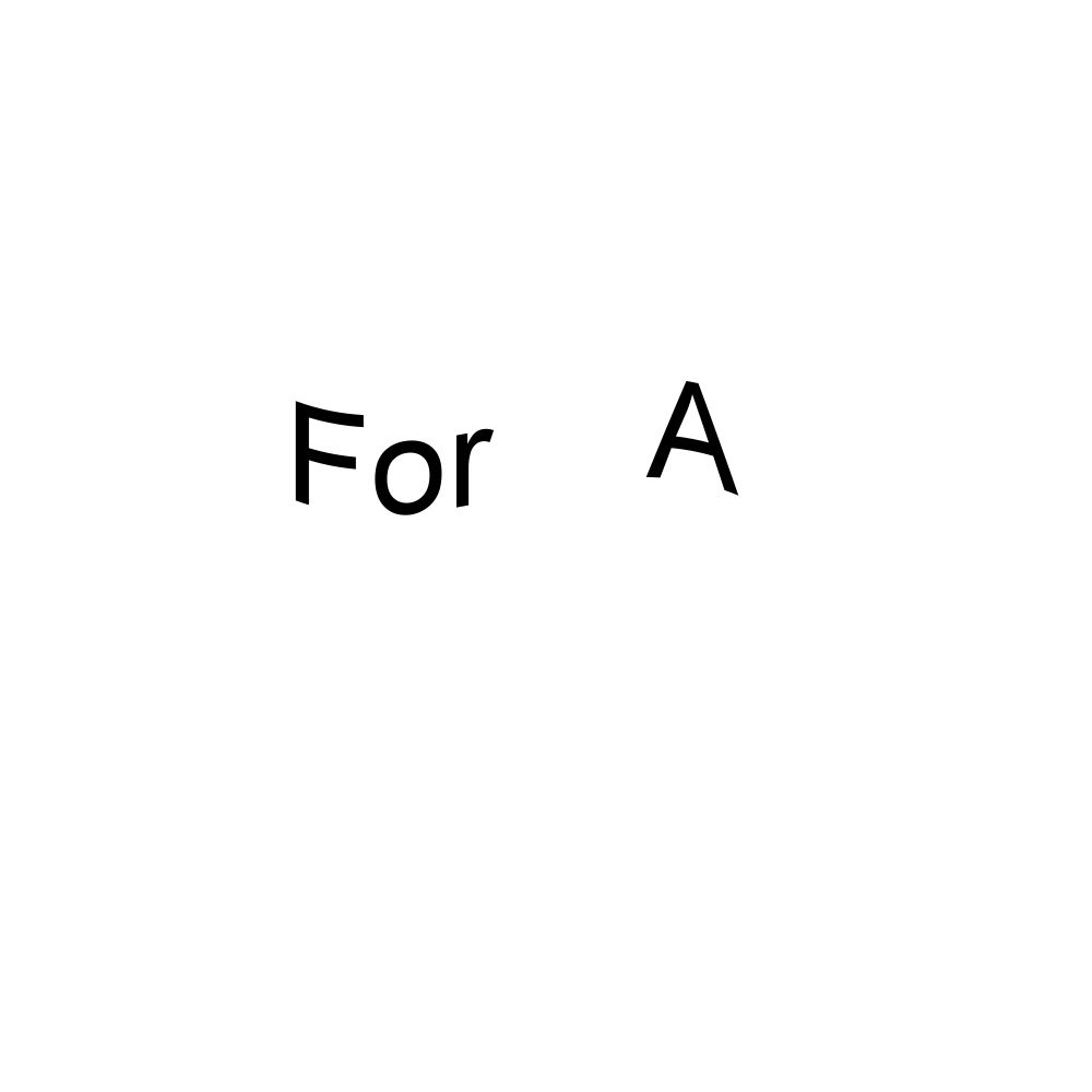 For A