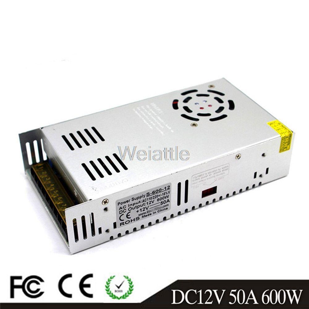300W 360W 400W 600W DC12V 13.8V 24V 36V 48V 60V LED Driver Switching Power Supply SMPS 110/220VAC Transformer Monitoring CCTV