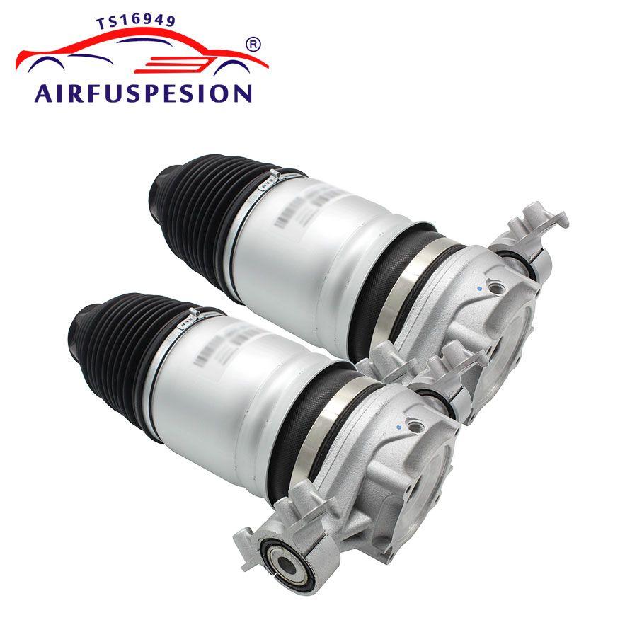 Paar Hinten Air Spring Bag Für Audi Q7 VW Touareg Porsche Cayenne Air Suspension Schock Reparatur kit 7P6601020K 7P6616019K 2011 -2016