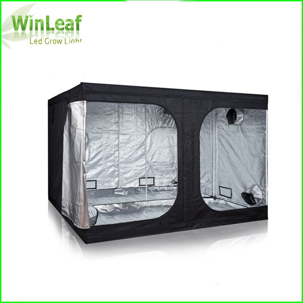Grow Tent 300 with Light for Indoor Hydroponics Greenhouse Plants Lighting 600D Grow Tent Indoor For plant grow lights