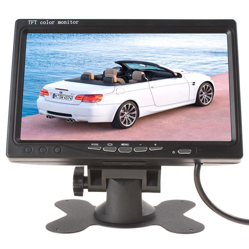 800x480 7 pouce Couleur TFT LCD Écran Voiture Arrière View Monitor avec Audio