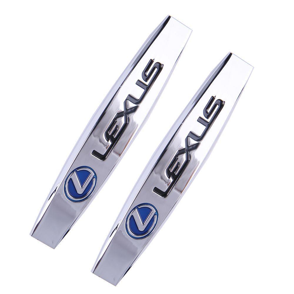 2 stück Auto Zubehör für Lexus IS250 IS300 RX330 RX350 nx200t es250 CT 200 H GS300 GS400 GX470 GX460 Auto stamm Deckel Aufkleber