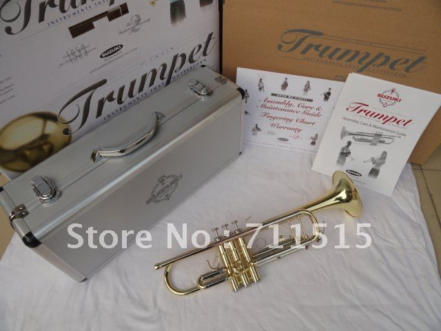 SUZUKI fidelity drop Bb the small trumpet instruments surface Brass Instruments electrophoresis Bb trumpet Musical Instruments