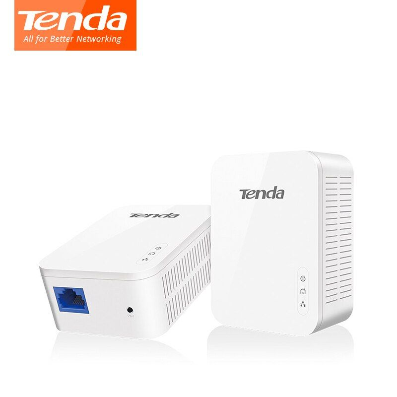 Tenda PH3 AV1000 Gigabit Powerline Adapter 1 * Paar 1000 Mbps PLC KIT Homeplug AV2 Gigabit Netzwerk Adapter Extender Ethernet IPTV