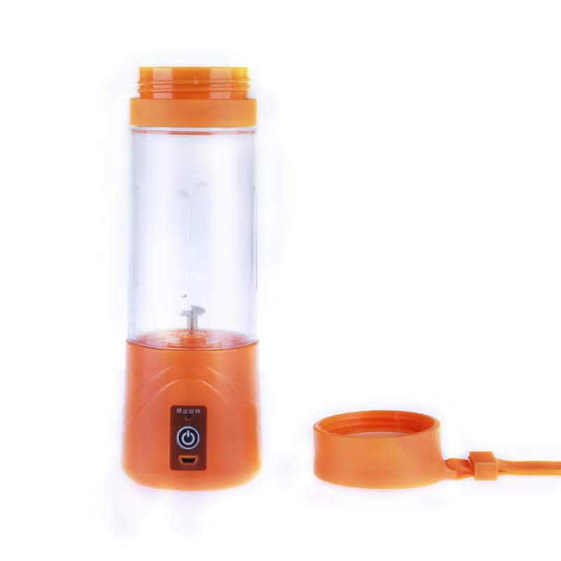 380ML Mini USB Rechargeable Portable Electric Fruit Juicer Cup Smoothie Maker Blender Fruit Vegetable Tools Home Kitchen Tools