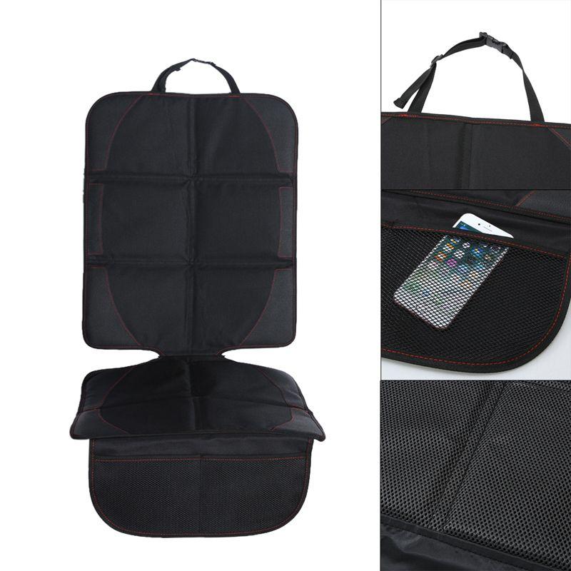 Universel siège de voiture couvre tapis protecteur respirant voiture maille poche sac de rangement Auto siège coussin protecteur accessoires d'intérieur