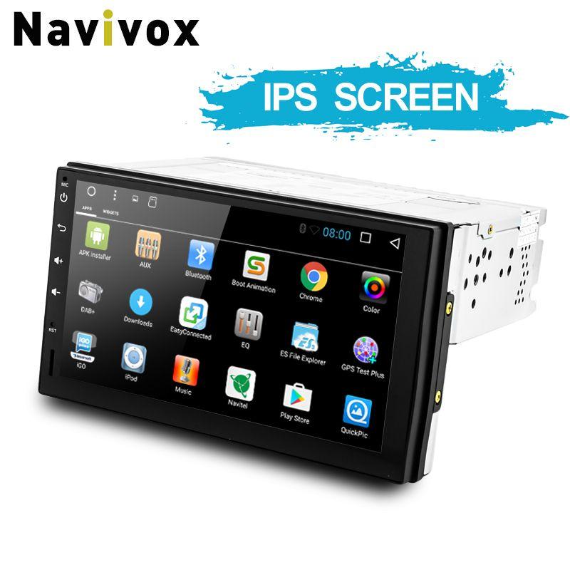 Navivox Android7.1/8.1 Universel GPS Navigation Radio Stéréo Lecteur Audio pour nissan, pour hyundai RDS/CFC/BT/Wifi (no dvd)