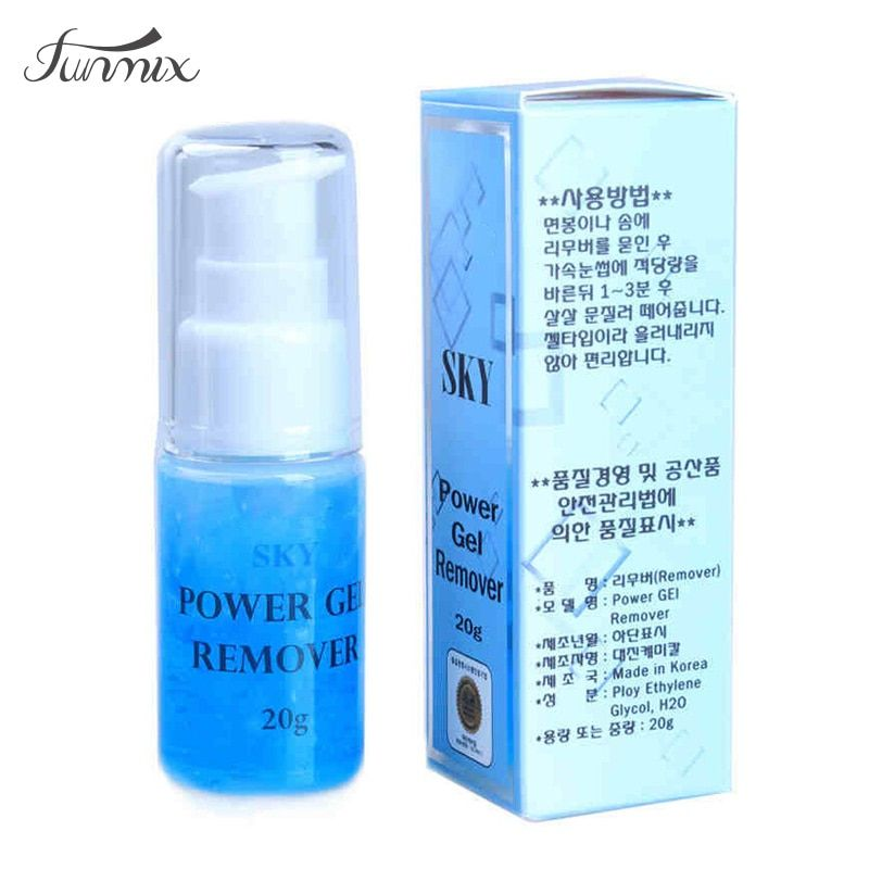 2017 Profession New POWER GEL Glue Adhesive Remover 20g Extemely Gentle Powerful Eyelash Extension Remover