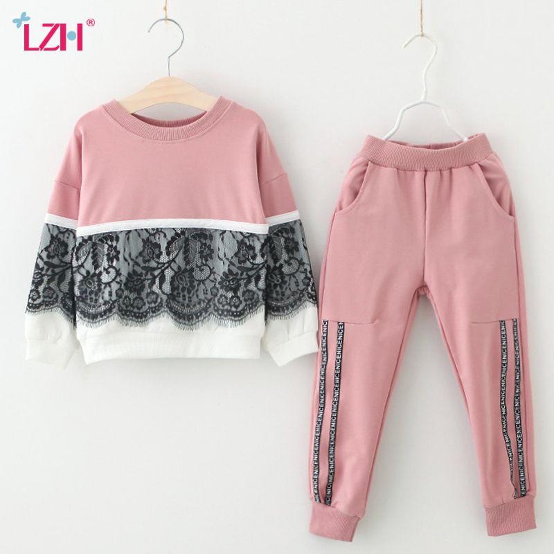 Vêtements pour enfants 2018 Automne Hiver Filles Vêtements 2 pcs Set Tenues Enfants Vêtements Survêtement Costume Pour Filles Vêtements Ensembles