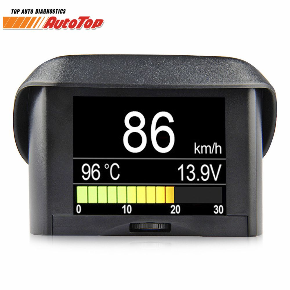OBD2 Car Computer Board Display Digital Onboard Computer Driving Gauge Fuel Consumption Speedometer Coolant Temperature Display