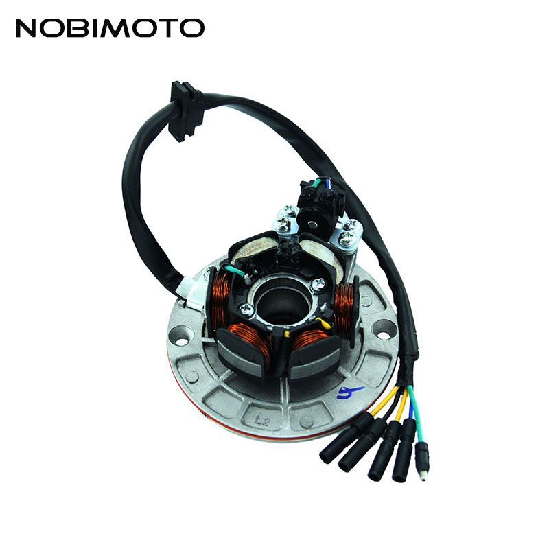 Off Road Magnet Motor Stator Coils High Performance Rare-earth Magneto Stator Coils For Yinxiang 150cc-160cc Engines CQ-135-1