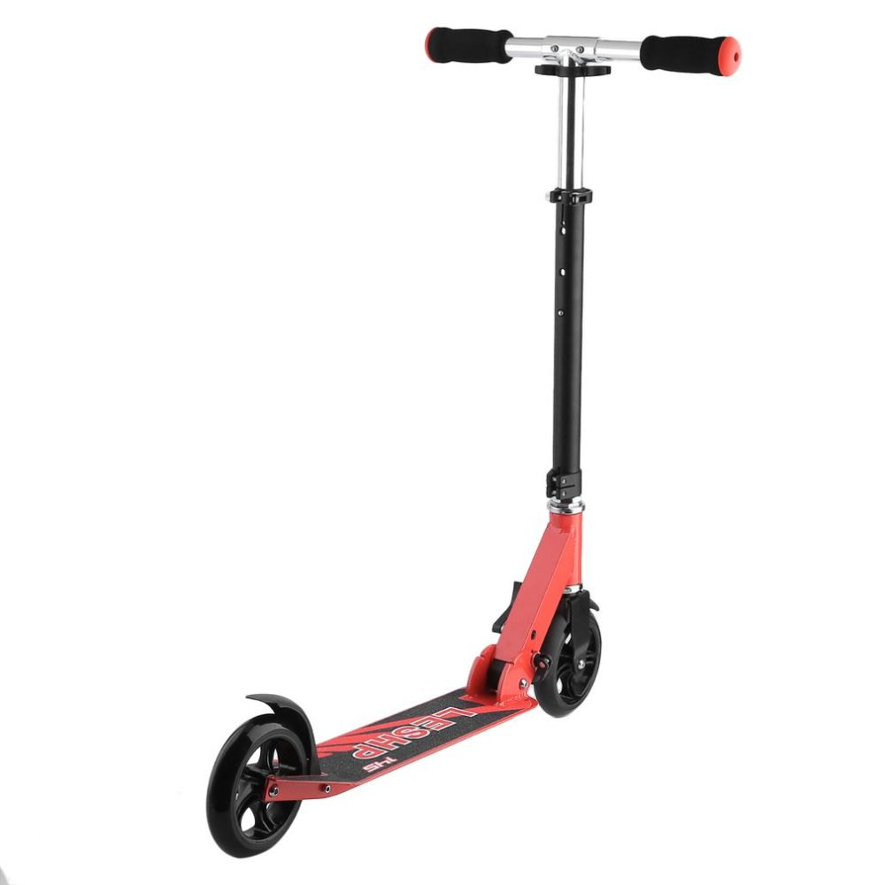 2 Wheels 145MM Height Adjustable Adult Kick Scooter Portable Folding Outdoor Urban Transportation Smart Scooter Ship From RUS