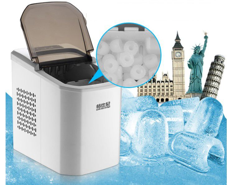 Bullet ice maker cube machine for home/commercial ice block making machine icee machines for sale