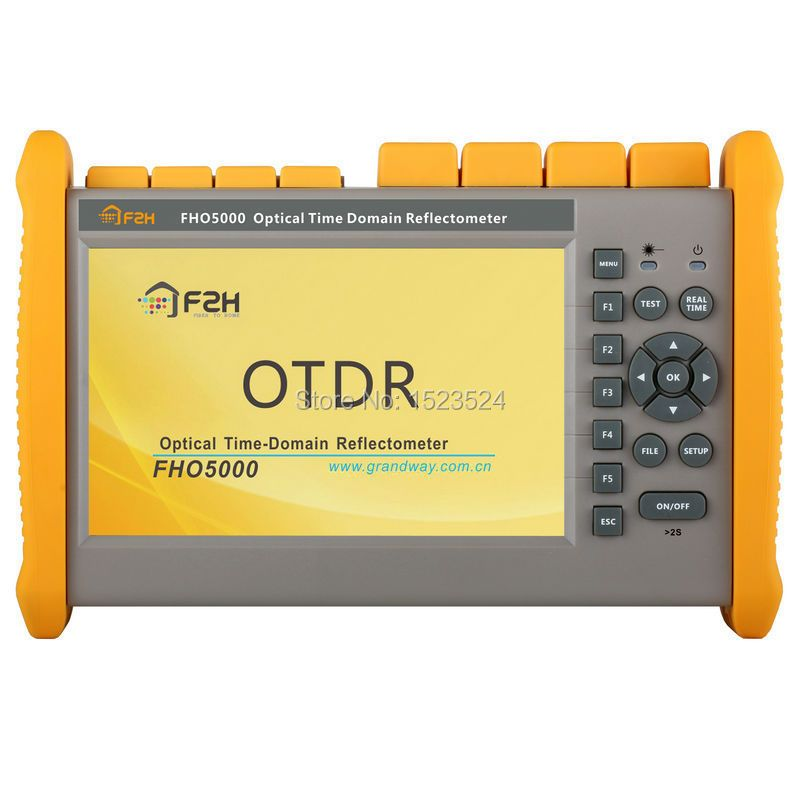 Grandway T-40F 40/38/38dB 1310/1550/1625nm Optical Time Domain Reflektometer PON OTDR