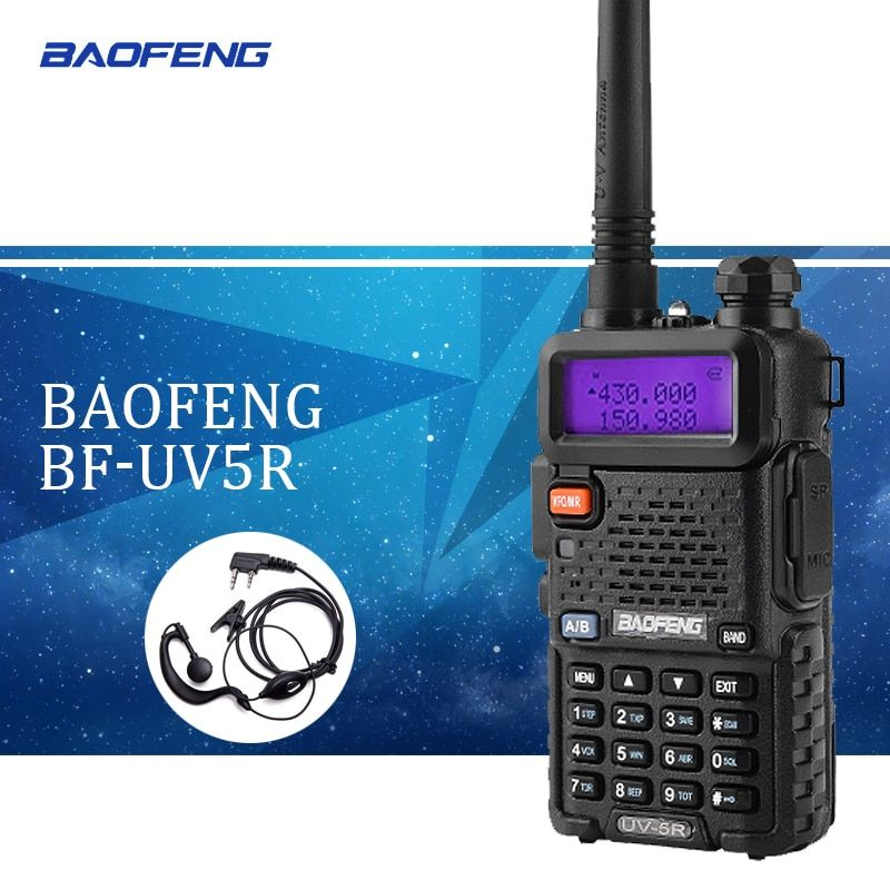 10pc Baofeng uv5r Walkie Talkie uv-5r Dual Band Handheld 5W Two Way Radio Pofung UV 5R Walkie-Talkie Handheld Radio
