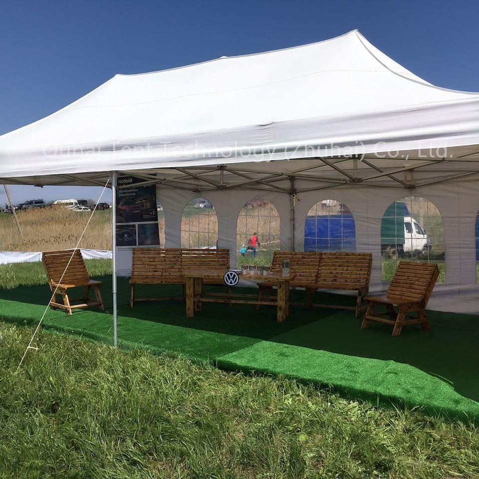 FREIES VERSCHIFFEN Super Starke 4X8m Klapp Zelt, Veranstaltung Party Festzelt, Sun Shelter, markise in 40x40x2,0mm Bein Profil