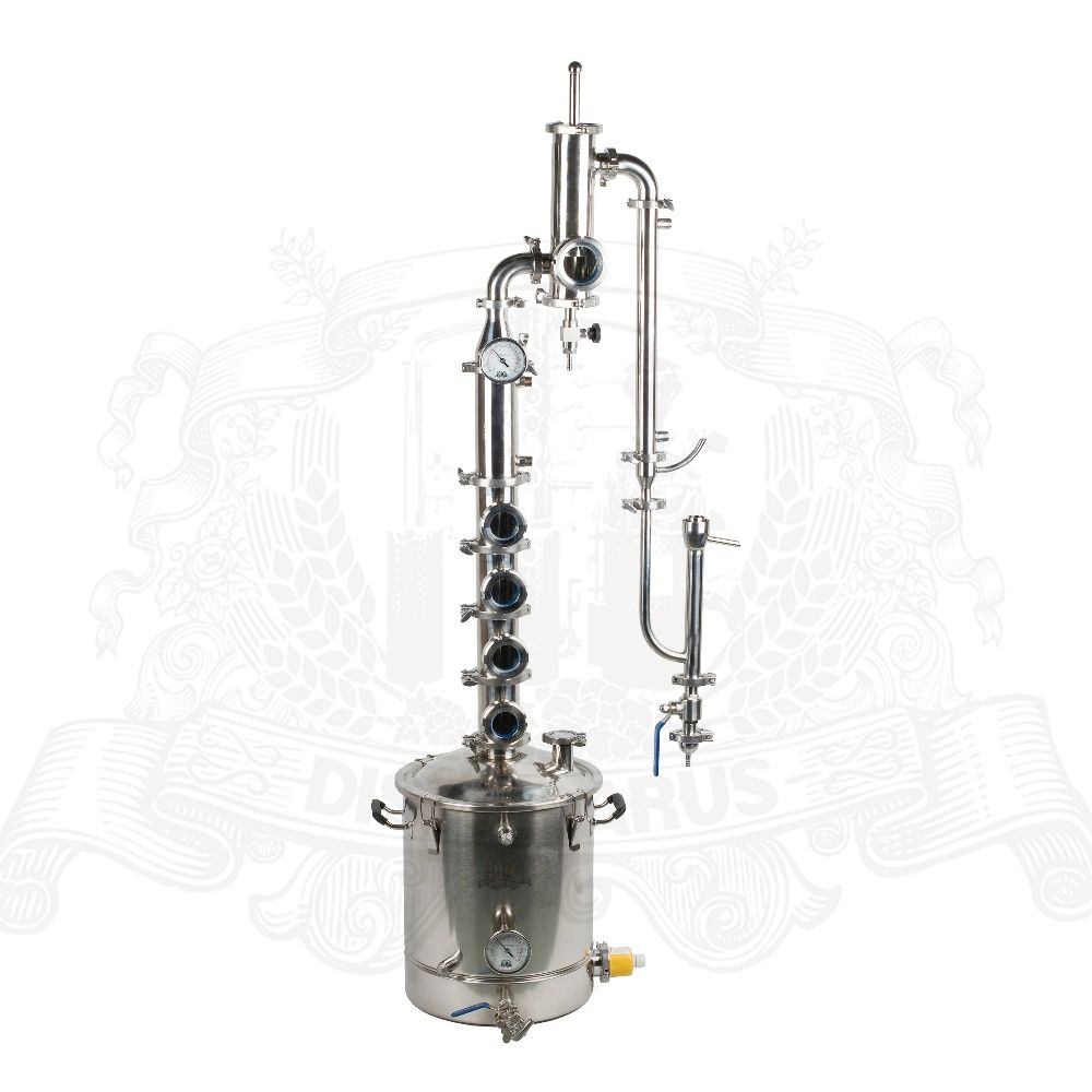38-55l Stainless steel kit for distillation with Gin Basket