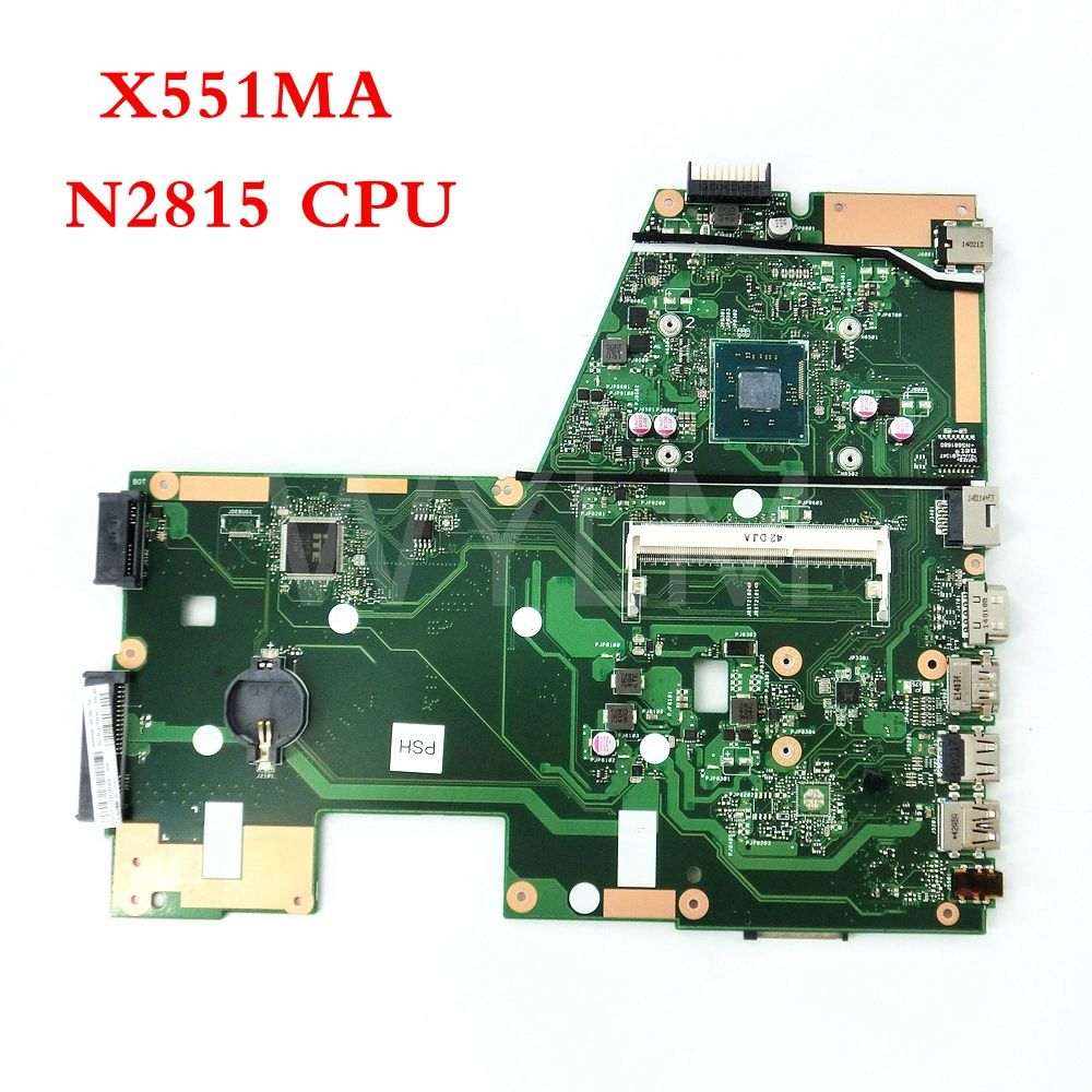 X551MA with N2815 CPU mainboard For ASUS X551M X551MA Laptop motherboard MAIN BOARD 60NB0480-MB1500-206 100%Tested