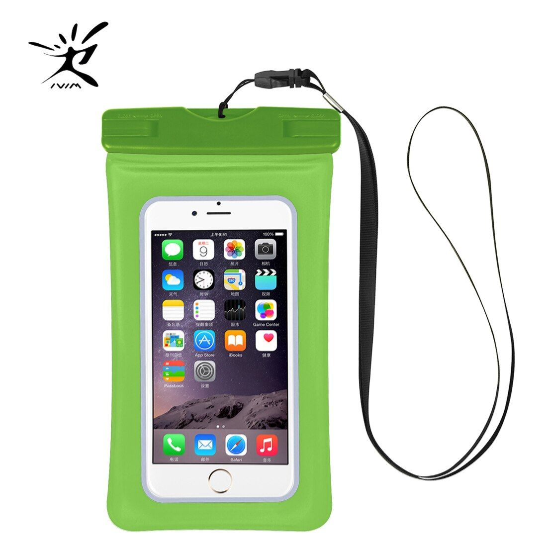 Swimming Mobile Phone Case Cellphone Holder Waterproof Bag Case Touch Screen Diving Swimming Underwater Camera Photograph Case