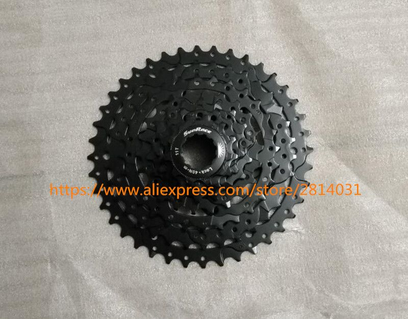 SunRace 11-40T 8 Speed Bicycle Freewheel Mountain Bicycle Cassette Tool MTB Flywheel Bike Parts