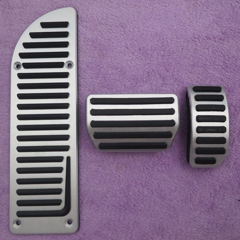 DEE Aluminium Car Accessories for VOLVO XC60 S60 S80L S60L V60 V70 AT Accelerator Gas Foot Rest Modified Pedal Pads