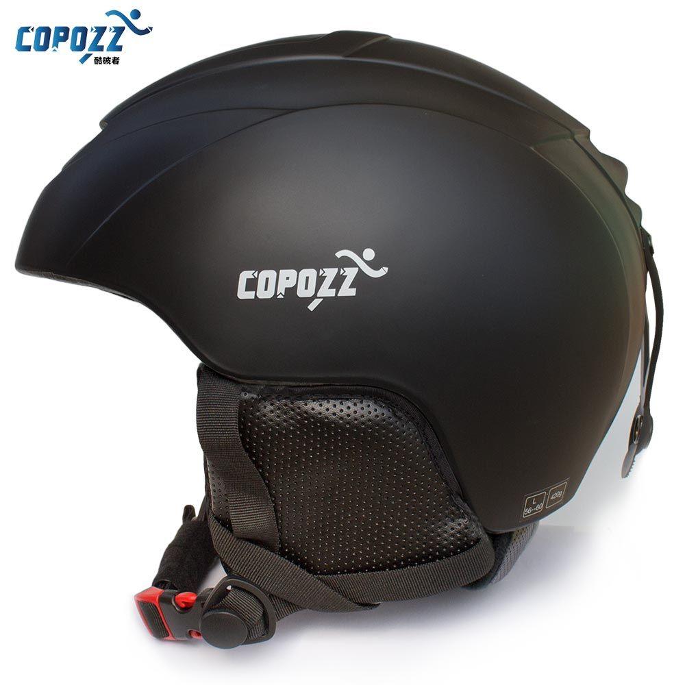 COPOZZ Ski Casco Integralmente moldeado casco de Snowboard Hombres Mujeres Esquí Monopatín Patinaje Casco