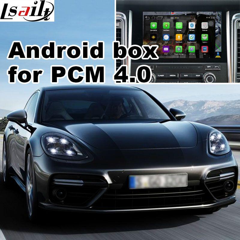 Android 6.0 GPS navigation box für Porsche Macan Cayene Panamera PCM 4,0 optioanl Carplay youtube waze yandex video interface